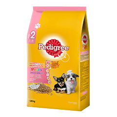 Pedigree® Dry Small Breed Puppy Milk Flavor