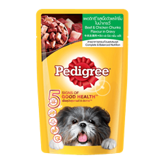 Pedigree® Pouch Adult Beef & Chicken