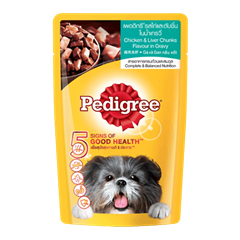 PEDIGREE® Pouch Adult Chicken & Liver