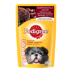 Pedigree® Pouch Grilled Liver Loaf & Vetgetables