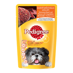 Pedigree® Pouch Simmered Beef Loaf & Vegetables