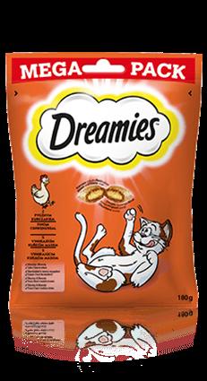 Przysmaki dla kota Dreamies® Mega Pack z Pysznym Kurczakiem