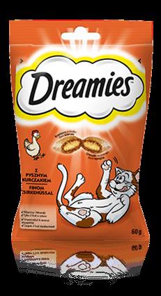 Przysmaki dla kota Dreamies® z Pysznym Kurczakiem