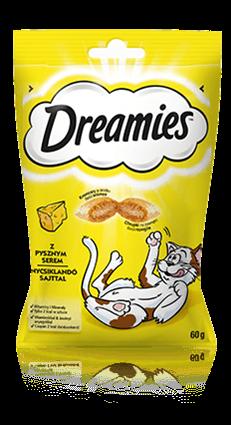 Przysmaki dla kota Dreamies® z Pysznym Serem