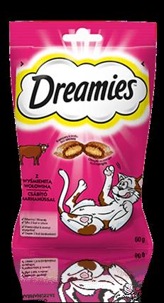 Przysmaki dla kota Dreamies® z Wyśmienitą Wołowiną