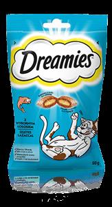 Przysmaki dla kota Dreamies<sup>®</sup> z Wybornym Łososiem
