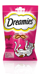 Przysmaki dla kota Dreamies<sup>®</sup> z Wyśmienitą Wołowiną