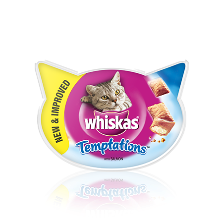 WHISKAS Temptations Łosoś
