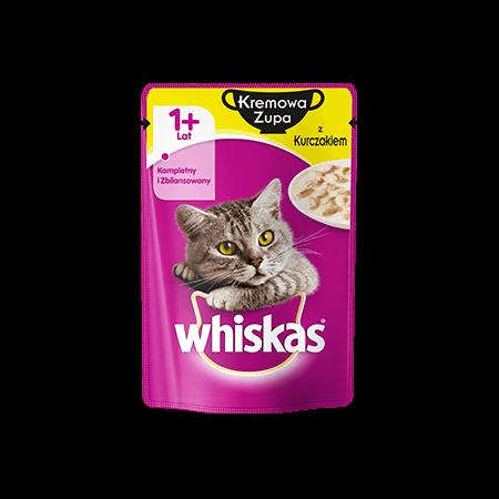 WHISKAS® 1+ Kremowa Zupa