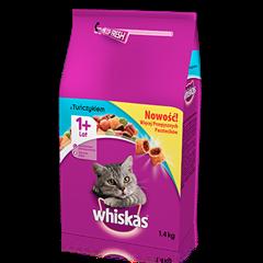 Whiskas<sup>®</sup> sucha karma z tuńczykiem 1,4 kg. 1+