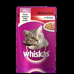Whiskas<sup>®</sup> saszetka mini z wołowiną
