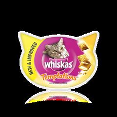 WHISKAS® Temptations kurczak i ser