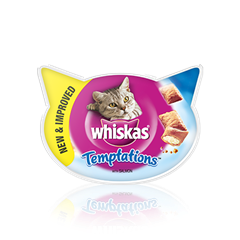 WHISKAS<sup>®</sup> Temptations Łosoś