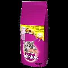 Karma sucha dla kociąt WHISKAS® Junior z Kurczakiem 14 kg