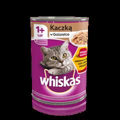 Whiskas® puszka z kaczką w galaretce 1+