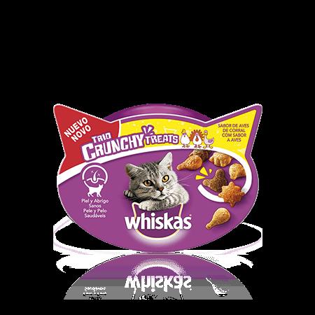 WHISKAS® Snacks Trio Crunchy Aves