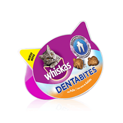 WHISKAS<sup>®</sup> Snacks Dentabites