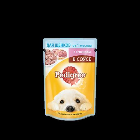 PEDIGREE® для щенков от 1 месяца с ягненком