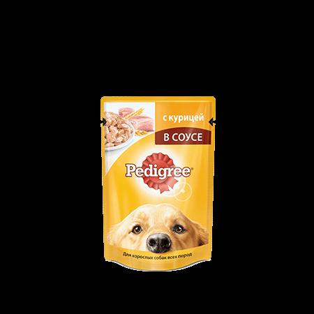 PEDIGREE® для взрослых собак всех пород с курицей