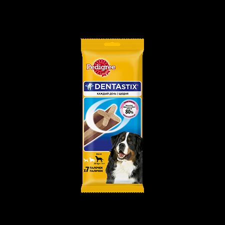 Лакомство по уходу за зубами PEDIGREE® Denta Stix™ для собак крупных пород более 25 кг