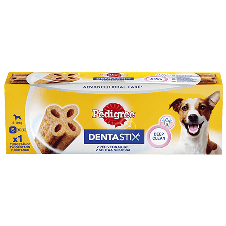 PEDIGREE®® DENTASTIX™  2 per vecka Small