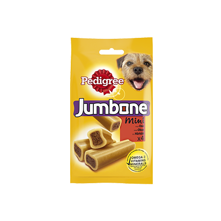 PEDIGREE®<sup>®</sup> Jumbone Mini Oxkött