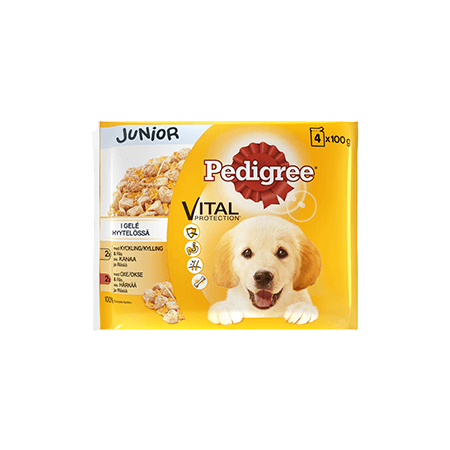 PEDIGREE®<sup>®</sup> Junior 4 pack