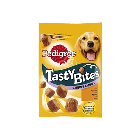 PEDIGREE®<sup>®</sup> Tasty Bites Chewy Cubes