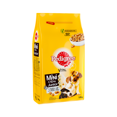 PEDIGREE® Vital Protection Mini Junior med Kyckling och ris