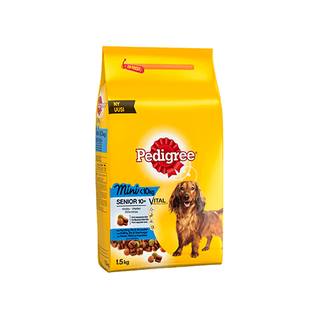 Pedigree<sup>®</sup> Vital Protection Mini < 10 kg Senior