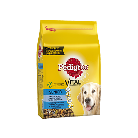 PEDIGREE®<sup>®</sup> Vital Protection Senior med Kyckling