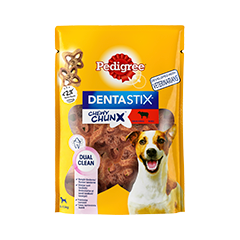 PEDIGREE® DentaStix™ Chewy Chunx™ Mini - Oxe