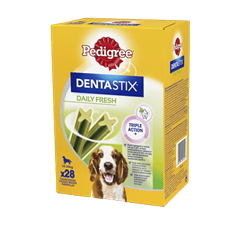 PEDIGREE® DENTASTIX™ DAILY FRESH Medium 28x