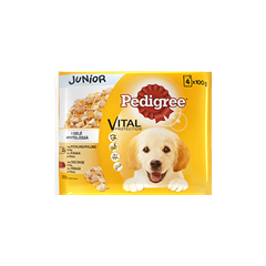 PEDIGREE® Junior 4 pack