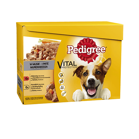 PEDIGREE® pouch loaf 12x100g