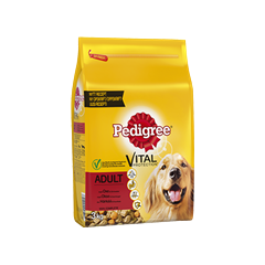 PEDIGREE® Vital Protection Adult med Oxkött