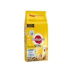 PEDIGREE®  Vital Protection™ Junior Kyckling & Ris