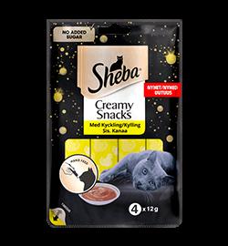 Sheba® Creamy Snacks Kyckling