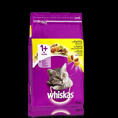 Whiskas® 1+ Kyckling