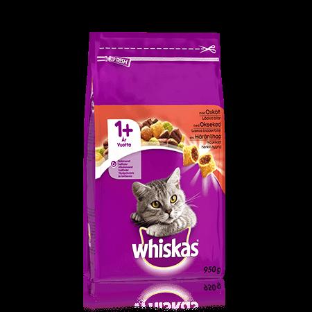 Whiskas1+ Oxkött