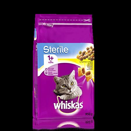 Whiskas 1+ Sterile Kyckling