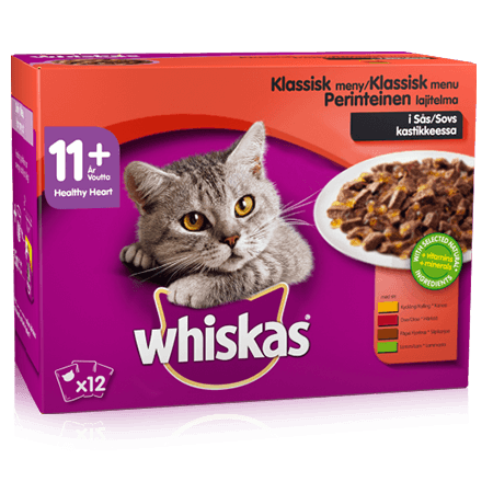 Whiskas® 11+ Meat Classic Selection