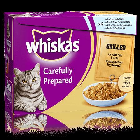 Whiskas® Grillad Fisk