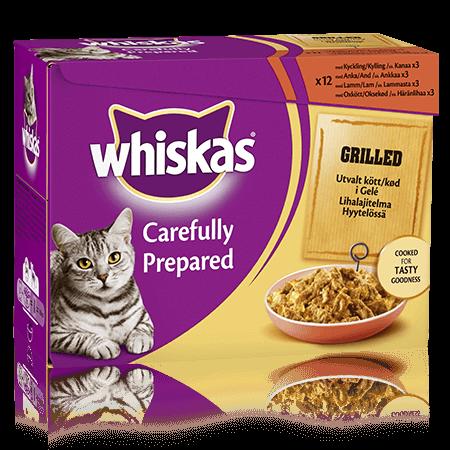 Whiskas® Grillat Kött