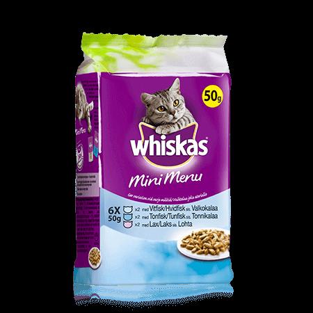 Whiskas® Mini Menu Fisk