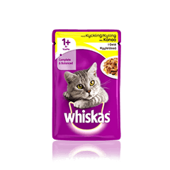Whiskas® 1+ Kyckling i gelé Single