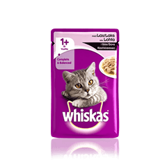 Whiskas® 1+ Lax i sås Single