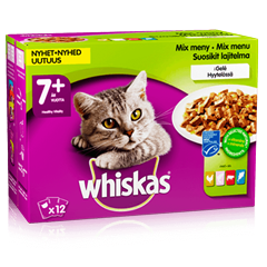 Whiskas® 7+ Mix meny i Gelé