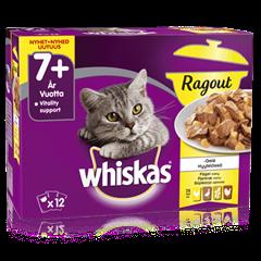 Whiskas® 7+ Ragout Fågelmeny