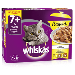 Whiskas® 7+ Ragugryta Fågelmeny